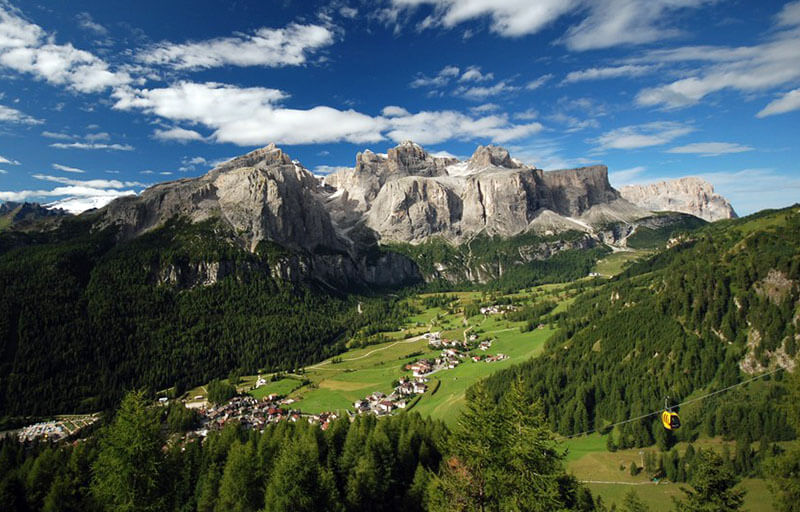 Alta Badia in estate